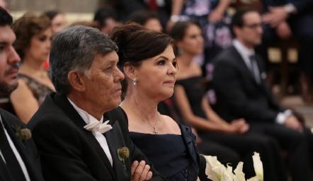 Javier Allende y Pilar Labastida.