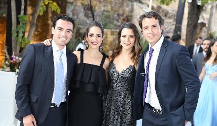 Alejandro Mancilla, Dani Mina, Jessica Martín Alba y Javier Meade.