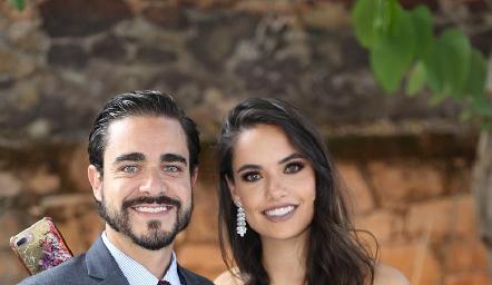 José Luis Villaseñor y Marcela Díaz Infante.