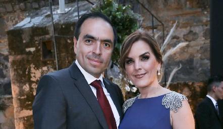Fernando Ríos y Elvira Martínez.