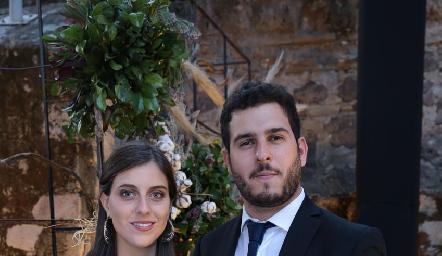 Camila Mejía y Pablo Martínez.