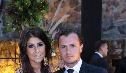 Fernanda Solórzano y Andrés Meade.