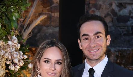 Iliana Rodríguez y Francisco Padilla.