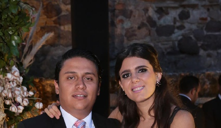 Juan Carlos Díaz de león y Sofía Cavazos.