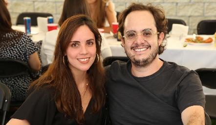 Jimena Silva y Guillermo Silva.