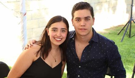 Sofía Faz y Alejandro Fernández.