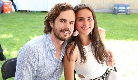 Andrés Castañón y Mariana Molina.