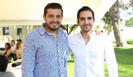 Cumpleaños de Eduardo Morales y Guillermo Báez.