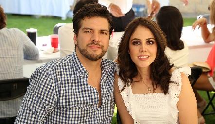 Eduardo Aranda y Fernanda González.