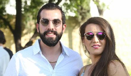 Guillermo Báez y Regina González.