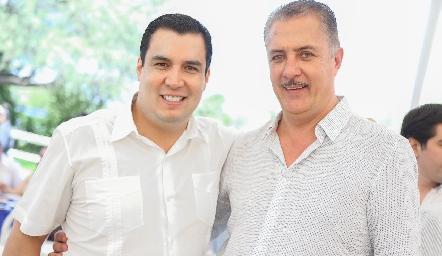 Juan Francisco y Rolando Hervert.