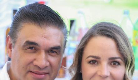 David Castañeda y Jimena Hervert.