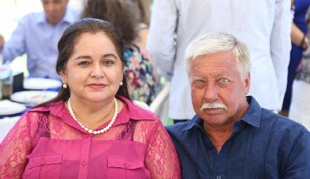 María Isabel y Rafael Fernández.