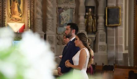 Alejandro y Claudia.