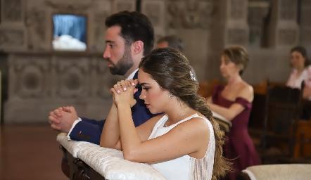 Alejandro Castañeda y Claudia Obregón.