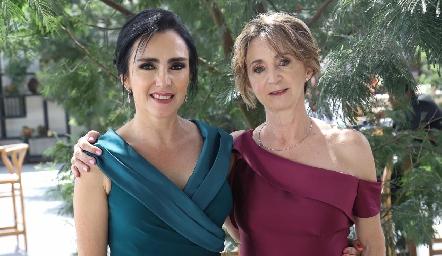Claudia Vázquez y Patricia Bueno.