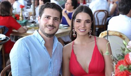 Fernando y Andrea Leal.