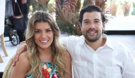 Andrea González y Julián Rodríguez.