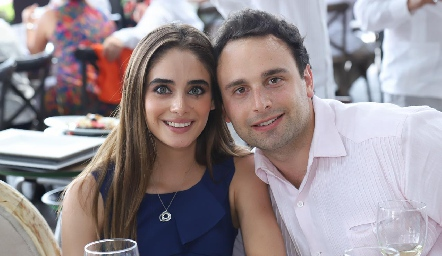 Fernanda Santos y Víctor Grayeb.