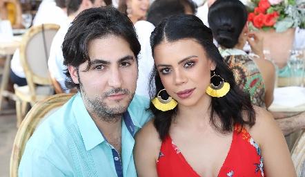 José María Sánchez y Fabiola Rodríguez.