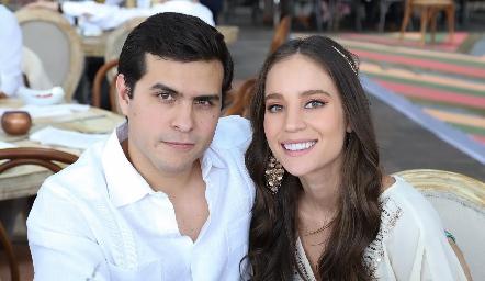 José Carlos de las Fuentes y Alejandra Argudo.
