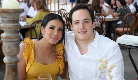 Luly Campos y Rodrigo Falomir.