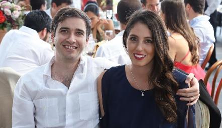 Miguel Martínez y Matilde Calderón.