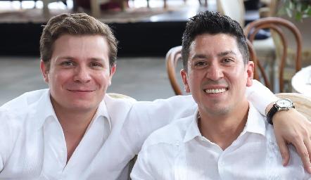 Andrés Durón y Víctor Fuentes.