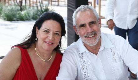Claudia Prado y Luis Sánchez.