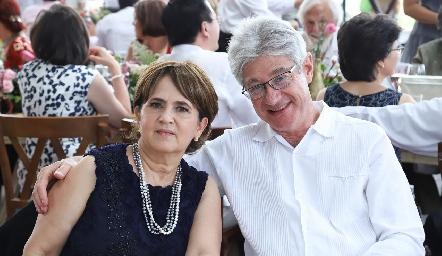 Silvia y José Luis Castañeda.