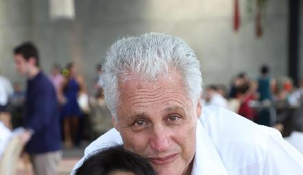Estela y Alberto Sánchez.