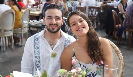 José Luis Sánchez y Tania Sánchez.
