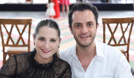 Lucía Gutiérrez y Fernando Hernández.