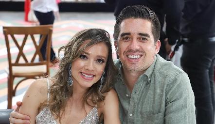 Andrea Melgar y Juan Pablo Rodríguez.