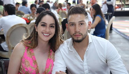 Cristina Sánchez e Isaac Hernández.