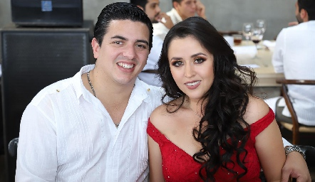 Juan Gallegos e Isabel García.
