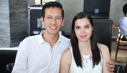 Diego Martínez y Alejandra Wong.