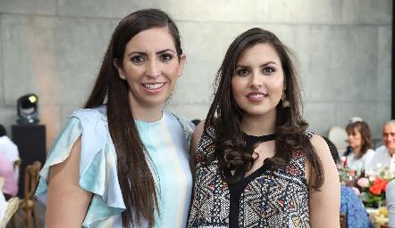 Andrea Sánchez y Sofía Quintanilla.
