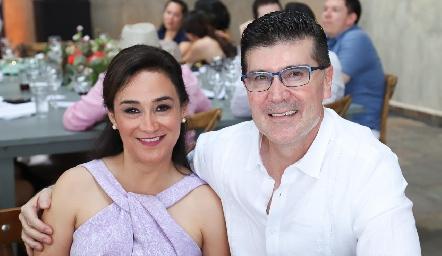 Marcela Rocha y Guillermo Flores.