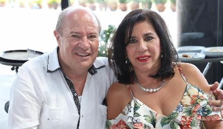 Fermín y Gladys Villar.