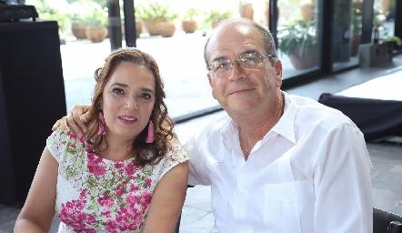 Yolanda Márquez y Guillermo González.