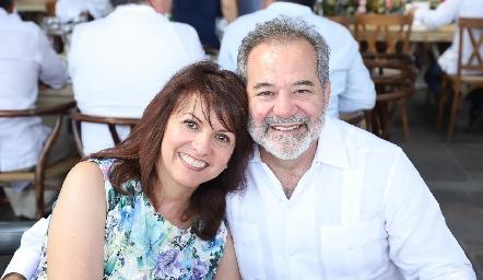 Margarita y Rafael Obregón.