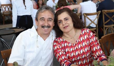 Guillermo y Ligia Dávalos.