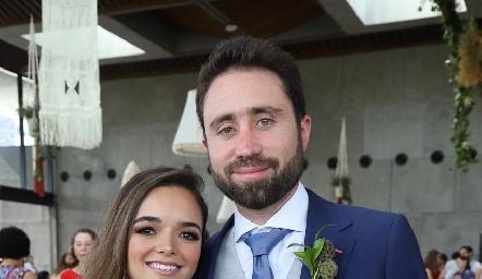 Claudia y Alejandro.