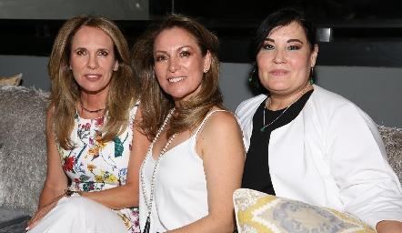 Lupita Pereda, Fabiola Nieto y Gaby Casillas.