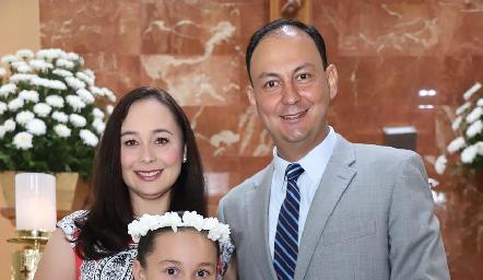 Familia Villalobos Anaya.