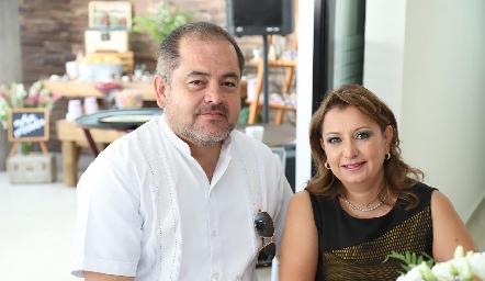 Javier Sánchez y Lara Kaoelliker.