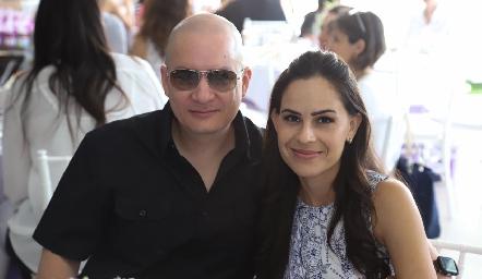 Francisco Monsech y Olivia Sánchez.