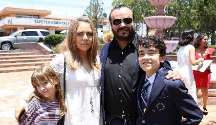 Familia Sánchez Serment.