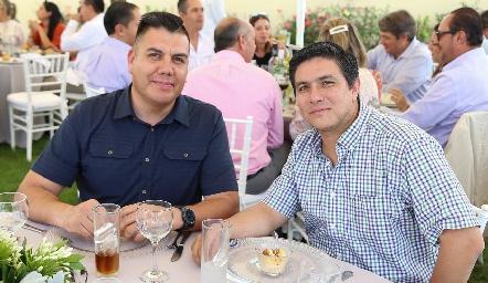Jacobo Arredondo y Roberto Jiménez .